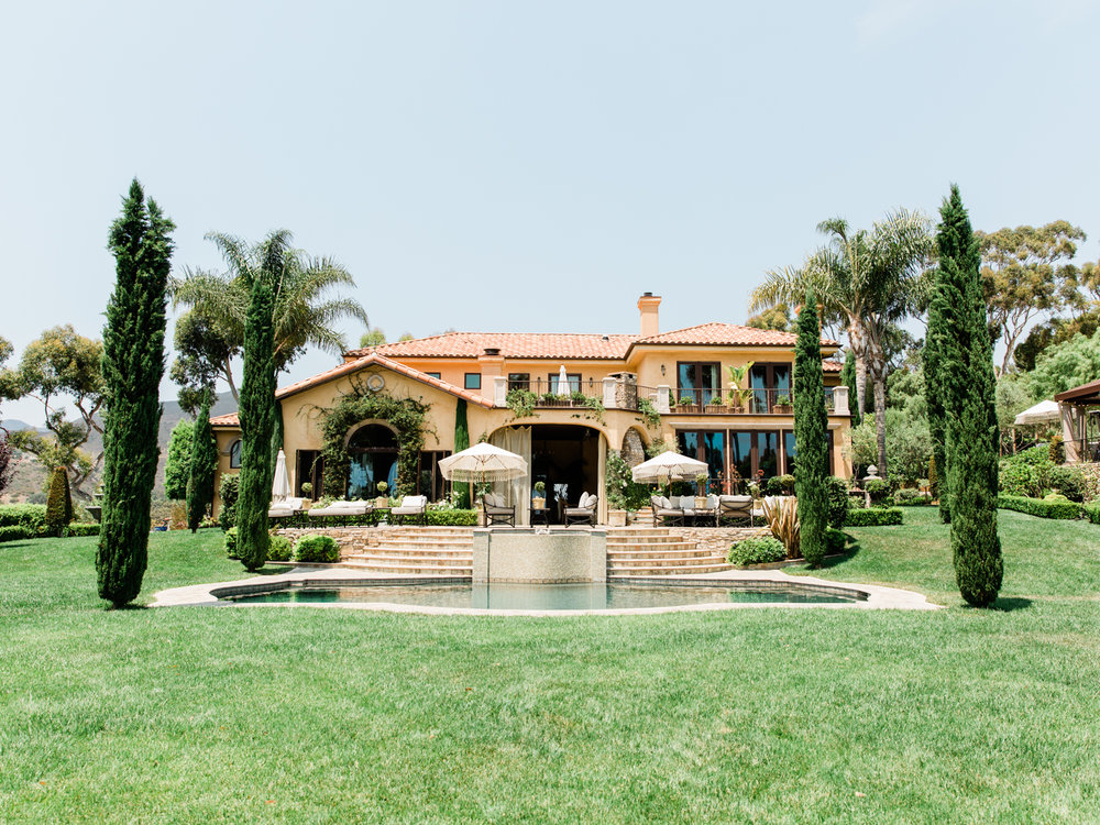 Villa Sancti Malibu Tuscan Estate -Los  Angeles Wedding Planner and Photographer -Loie Photography