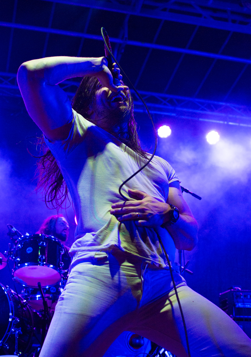 Andrew WK at Burger Beach Bash 2016