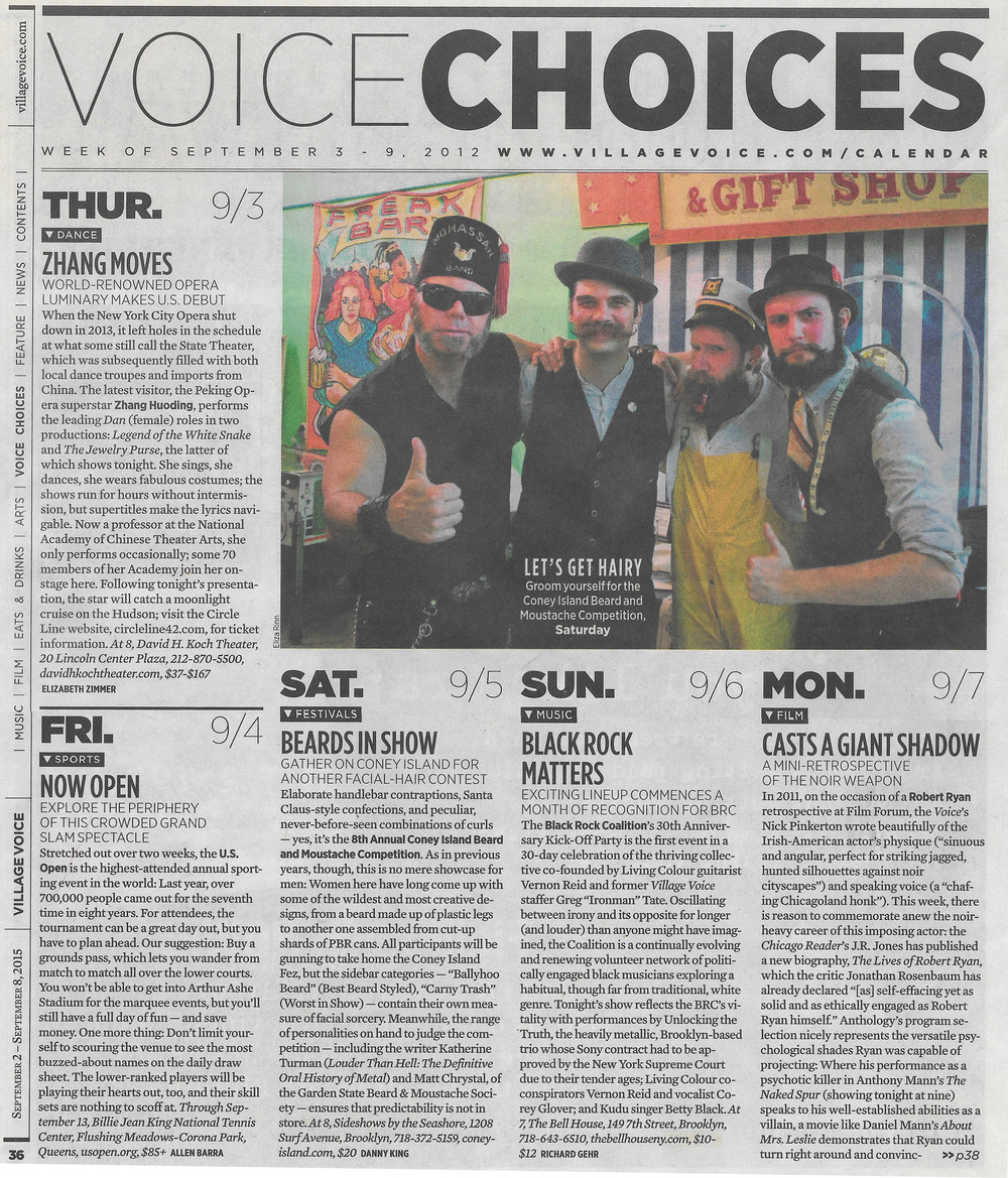 Village Voice, September 2- September 8, 2015