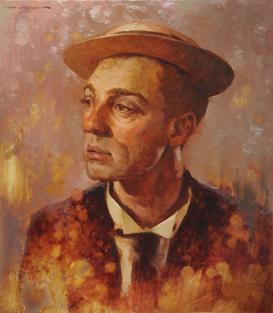 Buster Keaton  16x14