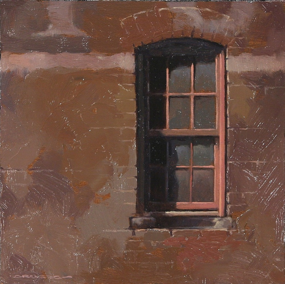 Windows III 6x6 - SOLD