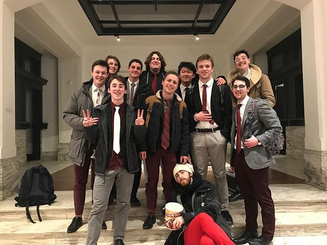 Our FIRST performance with the new boys! WOW was it a blast. If you're really craving some Beelzebubs in your life, SAVE THE DATE March 1st on your calendar! We'll be performing at Tufts for our Spring Show!