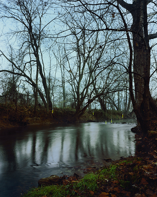 The Bend at Antietam Creek, Archival Pigment Print, 30 x 38 inches, 2008