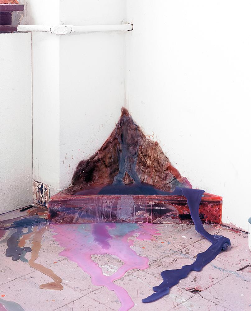 Wax Corner, 2011,Archival Pigment Print, 30 x 36 inches