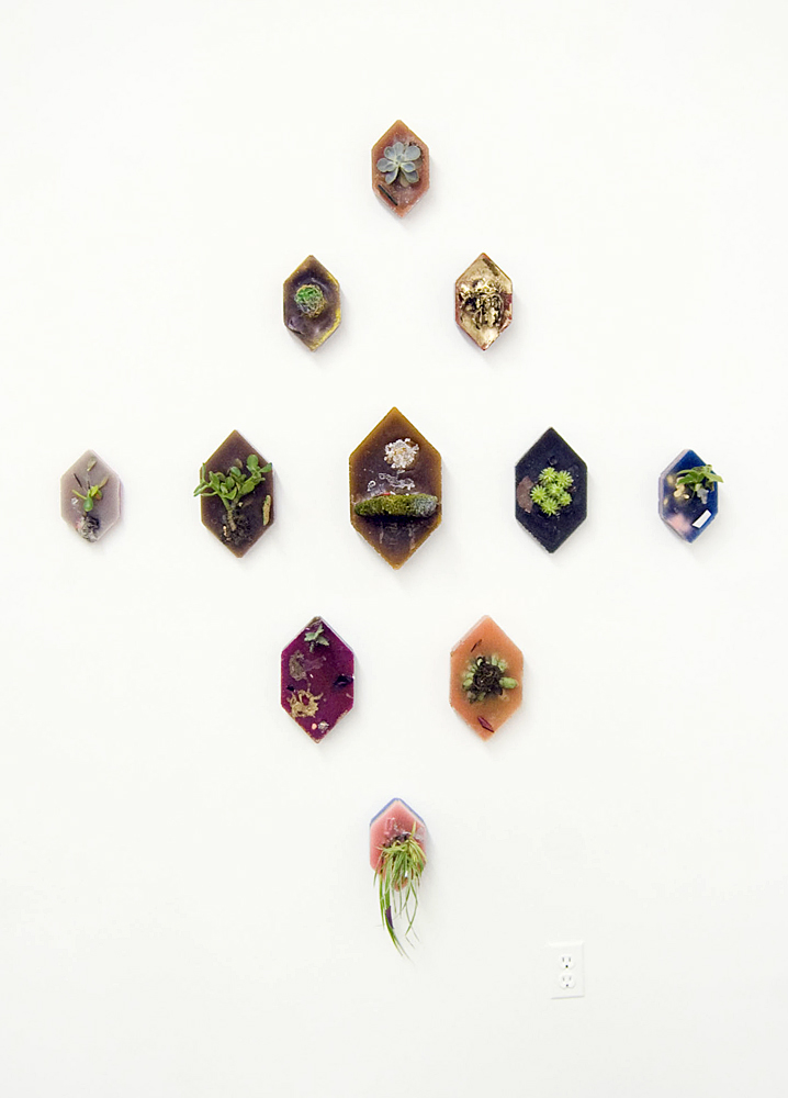 Untitled (Configuration #1), 2011, Wax and mixed media, various dimensions