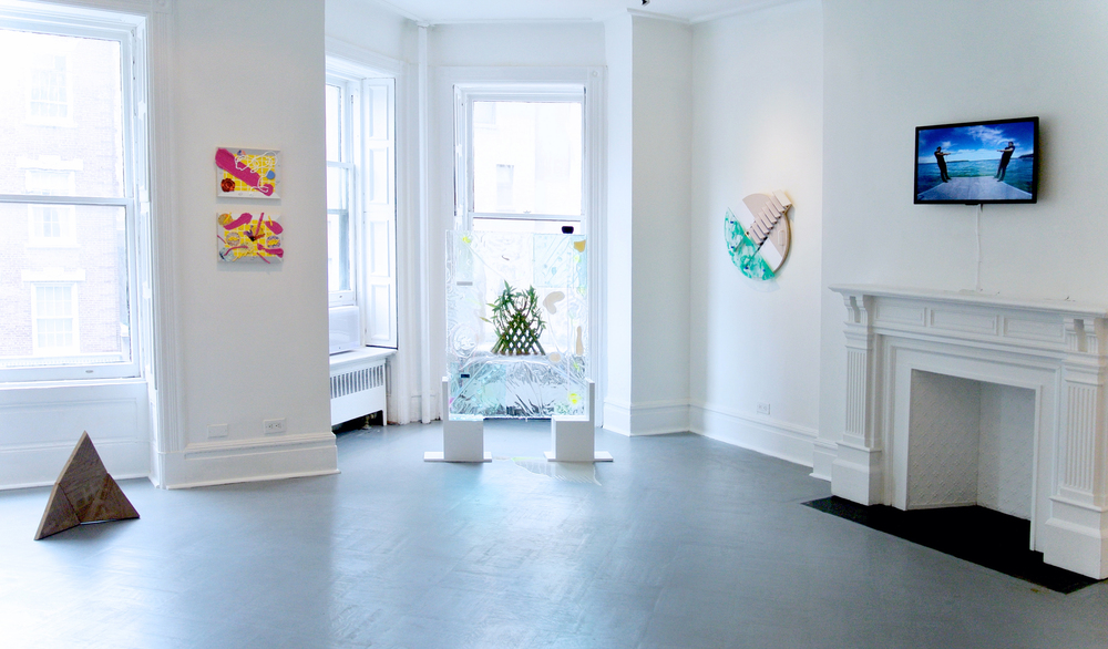 Installation view, Making an Entrance, Robert Blumenthal Gallery, June-July 2015
