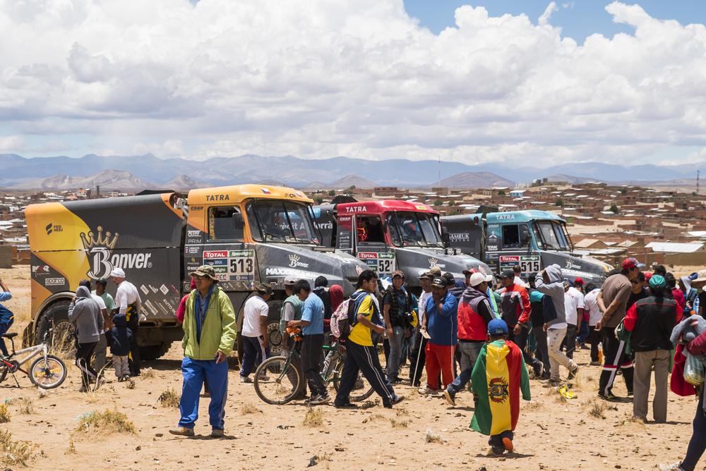Bonver Dakar Project v plné síle. Foto:Martin Vrbický