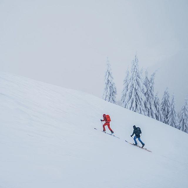 Get lost! #velkafatra #skialpinism #skialp #fjallraven #haganski #naskialpechpreshory
