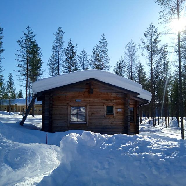 Our #home in #hossanationalpark. #wilderness_culture #snow #winterwonderland #visitfinland #visithossa #nationalpark #finland #outdoors #outdoorslife #skiingholiday #bucketlist #upitrek #youradventureofthelifetimebeginstoday #adventureapes
