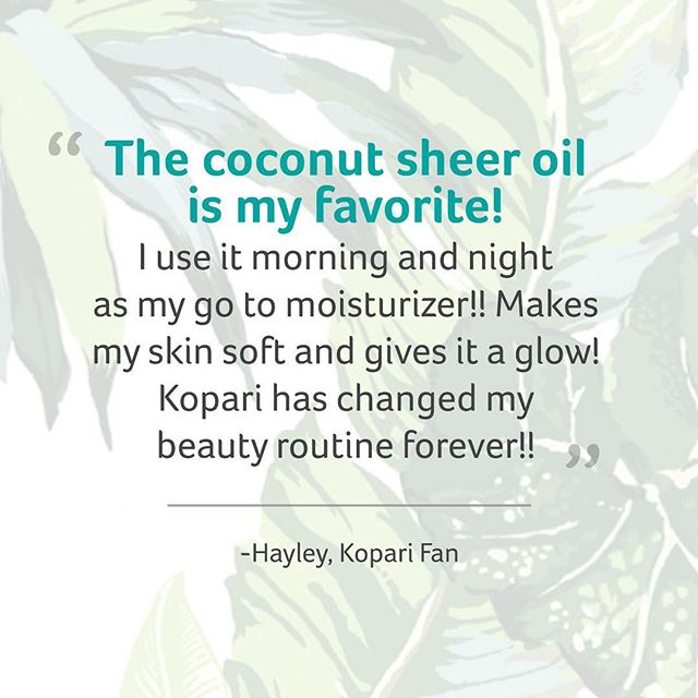 We're changing beauty routines left and right. Add the Sheer Oil into yours and see what the hype is about! #TestimonialTuesday #koparibeauty #beautyinanusthell