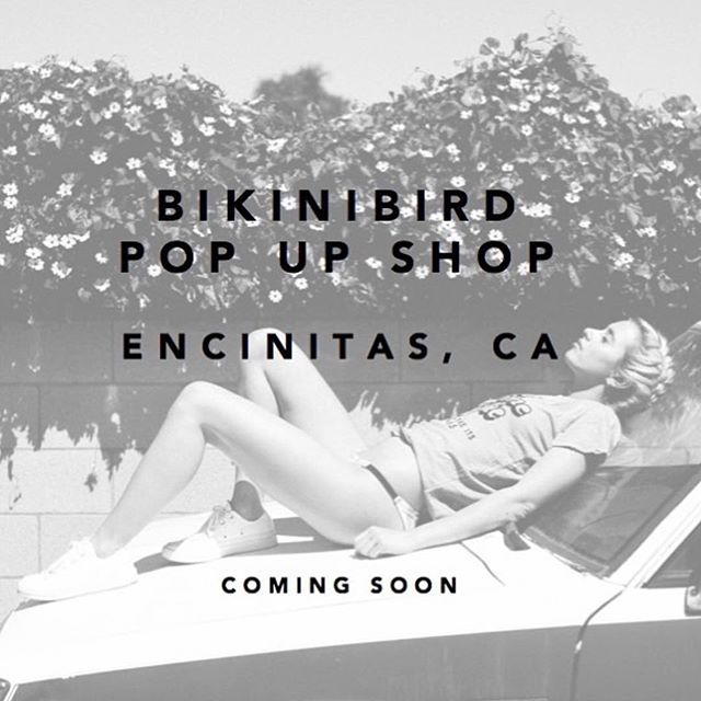 Join us this Friday to celebrate the launch of @beachpartyca x @bikinibird's 2 month Encinitas Pop Up at @saidspace! Shop for your fave #koparibeauty products + a new summer bikini while enjoying bites and bubbly sips. See you there    766 S Coast Hwy, 4-7pm.