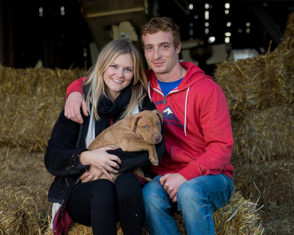 Professional Pet Photography - Family Portrait