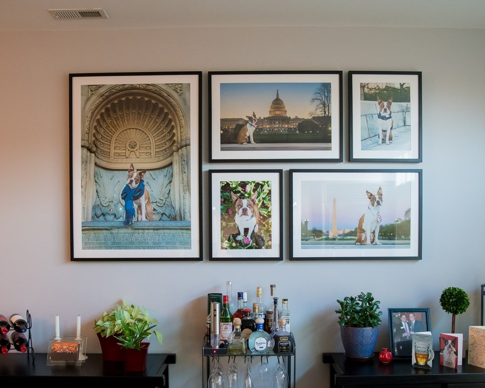 We Will Deliver and Hang Your Wall Art - We come to your home to hang your portraits