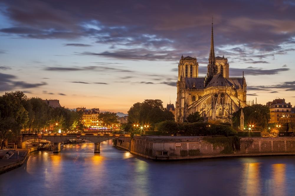 Seine and Notre Dame