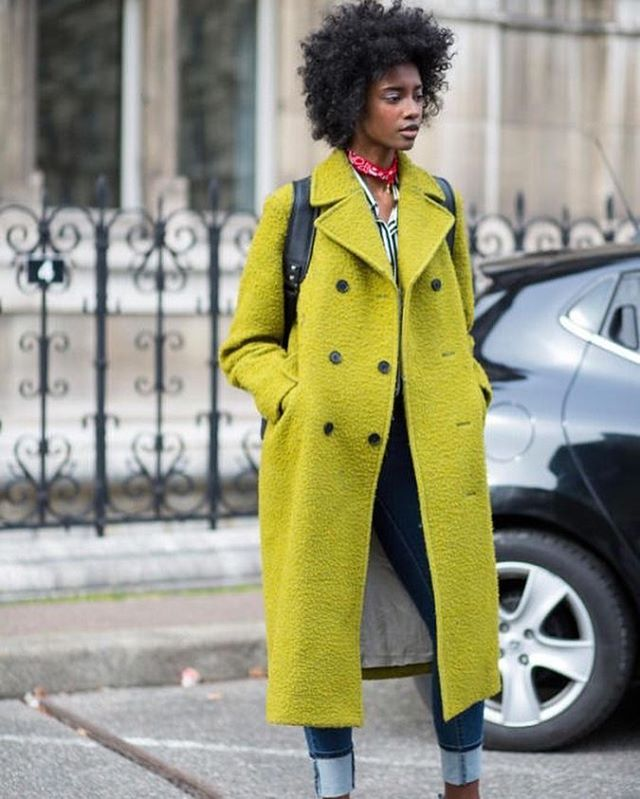 As we embark on our third winter of 2018, here's some Monday inspo! #outerwear