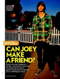 People Magazine feature article on the PEERS Program.