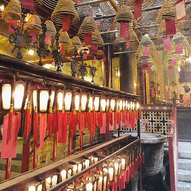 Prayers and hanging incense