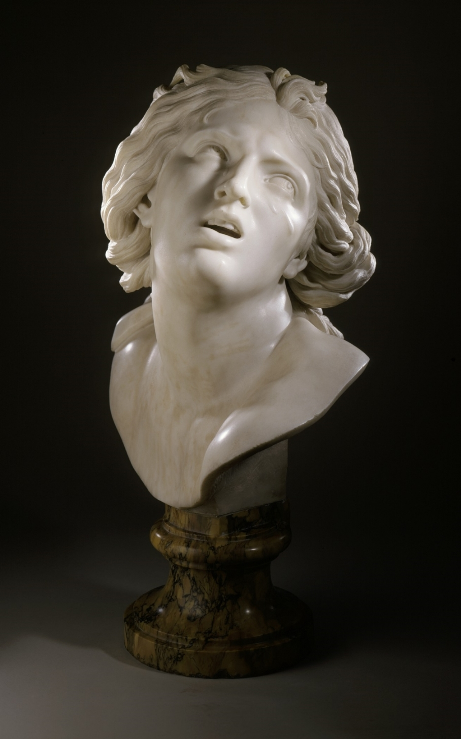 Head of Proserpina By Gianlorenzo Bernini (Italy, 1598-1690) [Public domain], via Wikimedia Commons