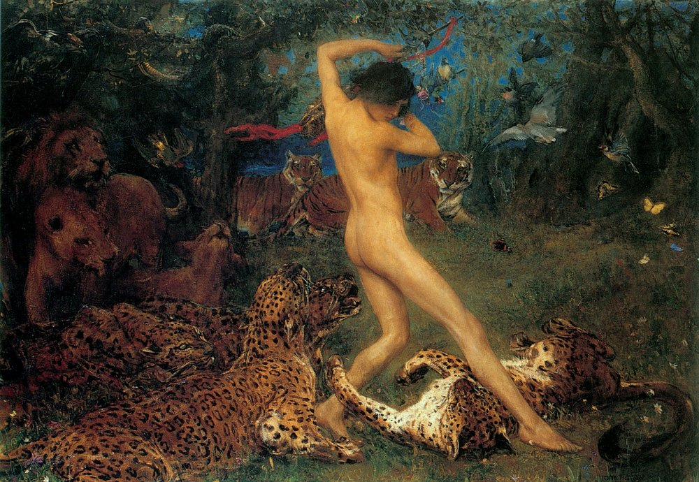 Orpheus by John Macallan Swan (1846-1910); Source/Photographer: Art Renewal Center; [Public domain], via Wikimedia Commons