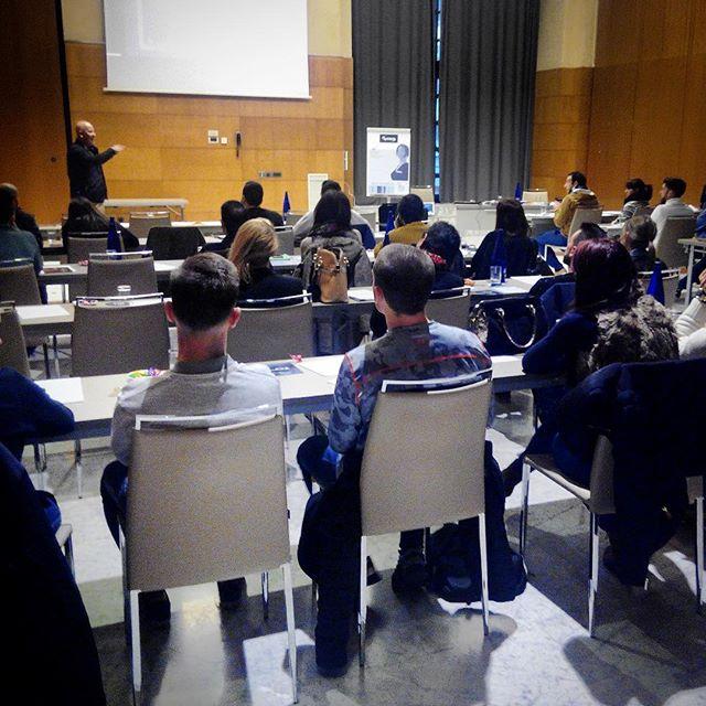 Gran aforo hoy en Málaga en la charla formativa. Próxima parada: Barcelona, sábado 27 en MELICH SPORTS CLUB en Carrer Onze de setembre, 7 de Sant Just Desvern #mihaonthego #mihabodytec #ems