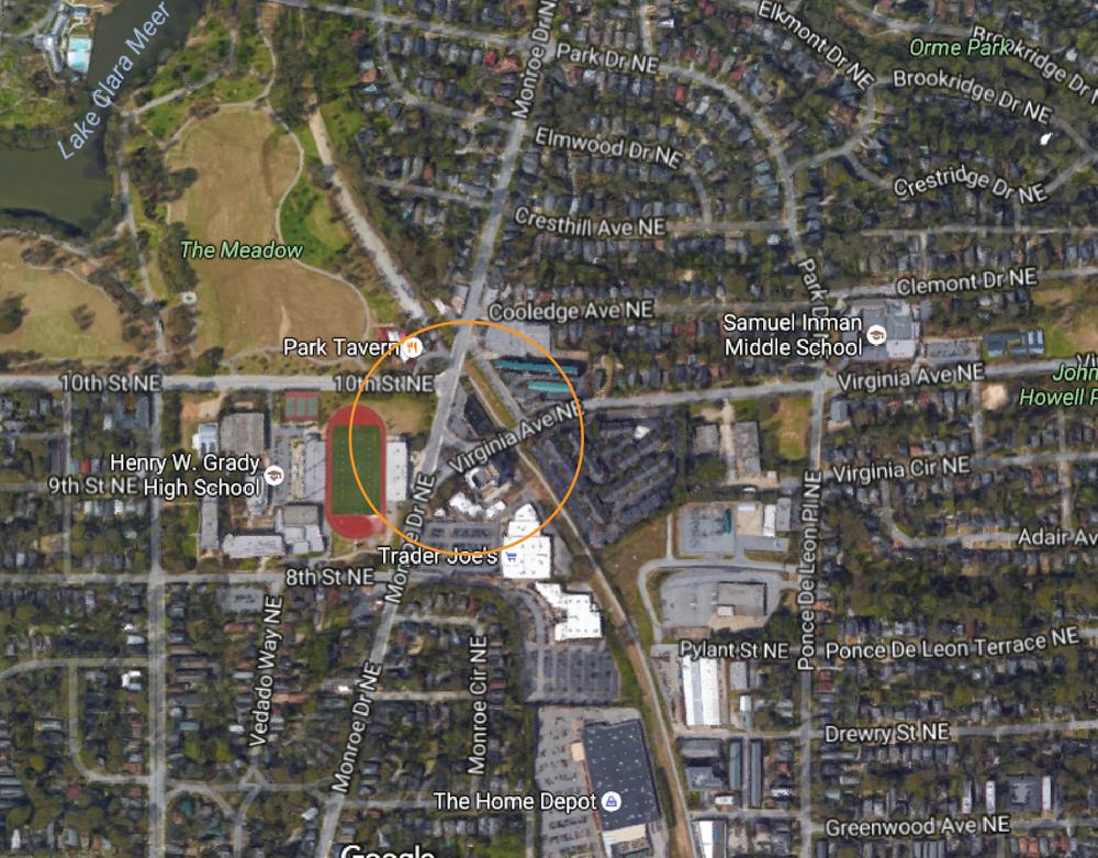 Google Street Aerial View