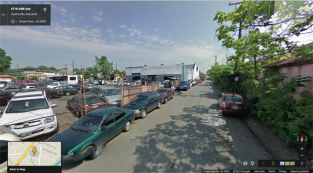 Google street view of Gateway Arts, MD.