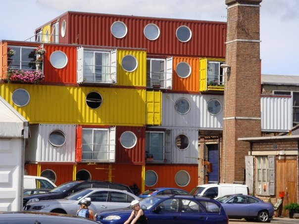 PHOTO: Container City in Greenwich, London, UK