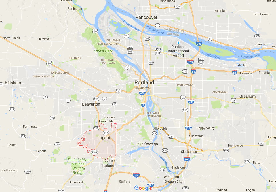 Portland, OR Metro Area