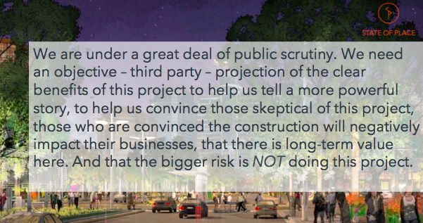 - Feedback from a BID Director in a Southern city