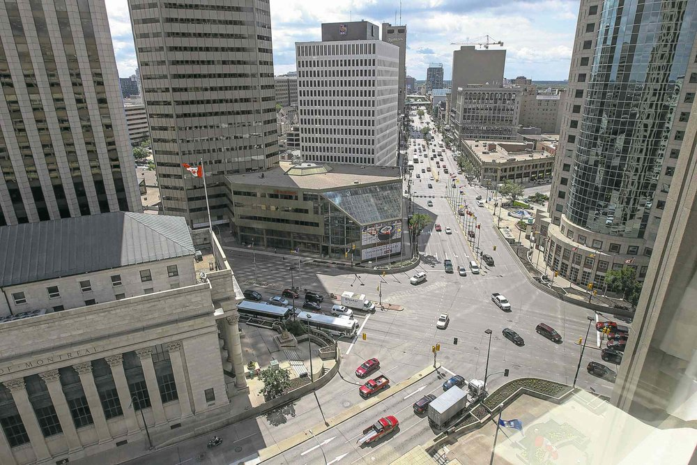 Portage & Main, from Winnipeg Free Press