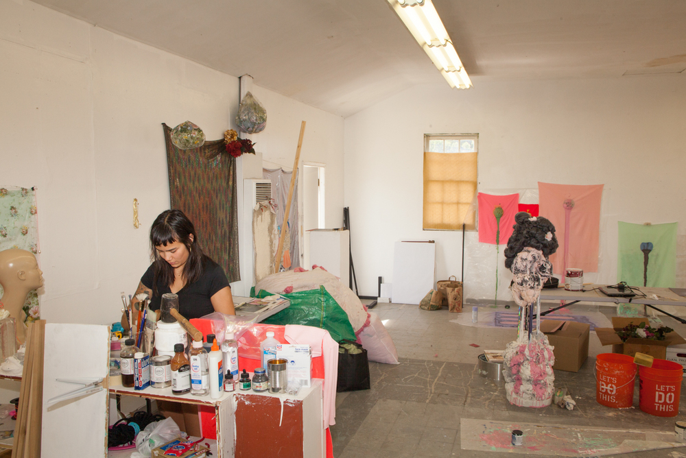 Former studio in Los Angeles, CA  photo Matthew Pevear