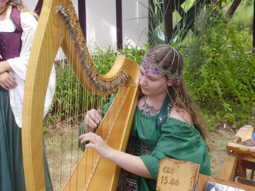 Michigan Harpist Chanah Ambuter