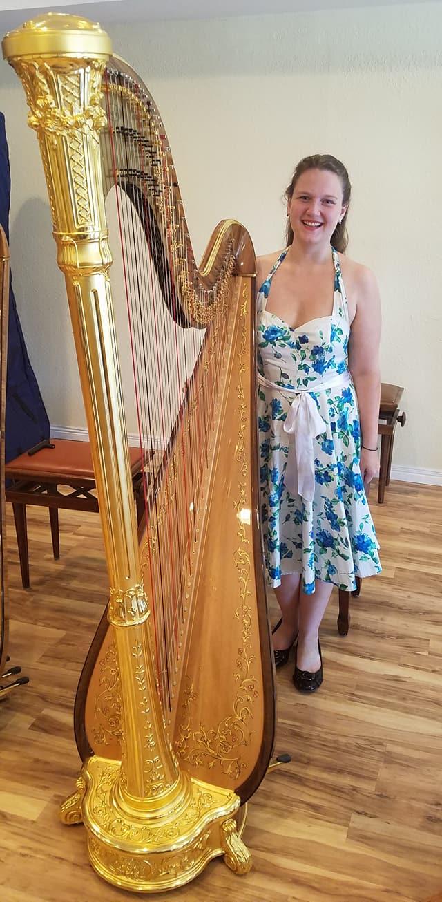 The Michigan Harpist - Harp