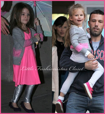 Siri Cruise and Violet Affleck