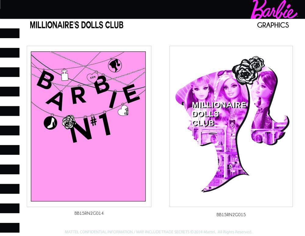 Millionaire's Dolls Club Graphics 3-4