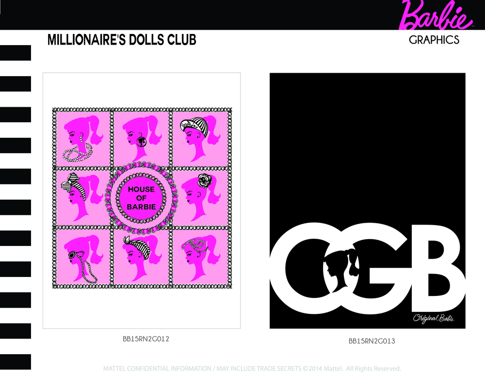 Millionaire's Dolls Club Graphics 9-10