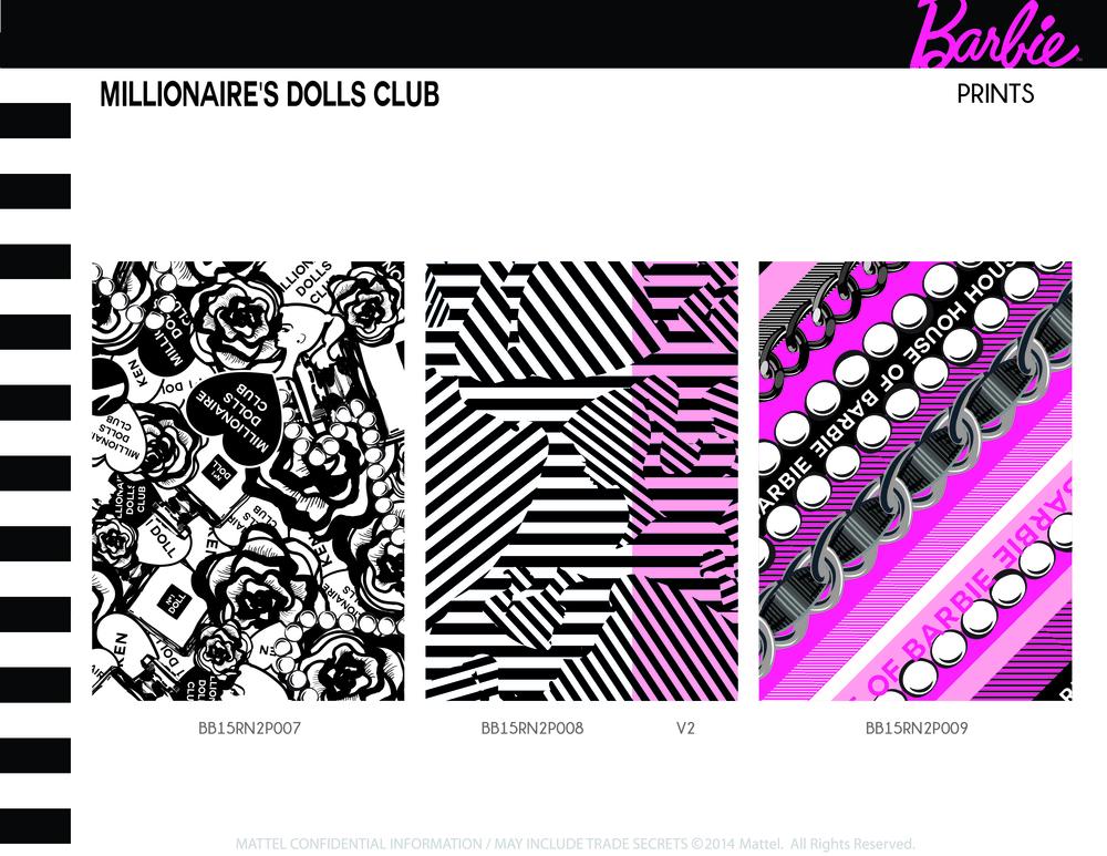 Millionaire's Dolls Club Prints