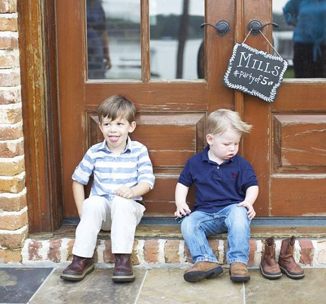 Looks like 3 boys for the Mills house!! 👦👦👶👍👍👍Come have some blue treats tomorrow to celebrate! #firstfriday. 📷: @ktmcgee