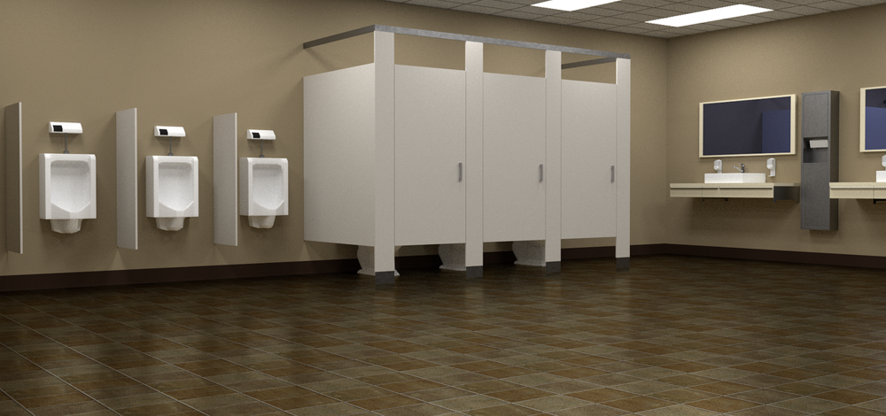 bathroom foam