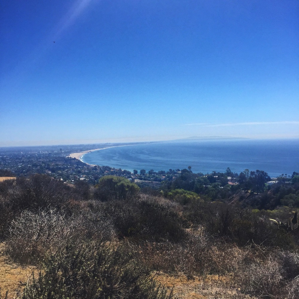 View from a recent hike....yay ocean!