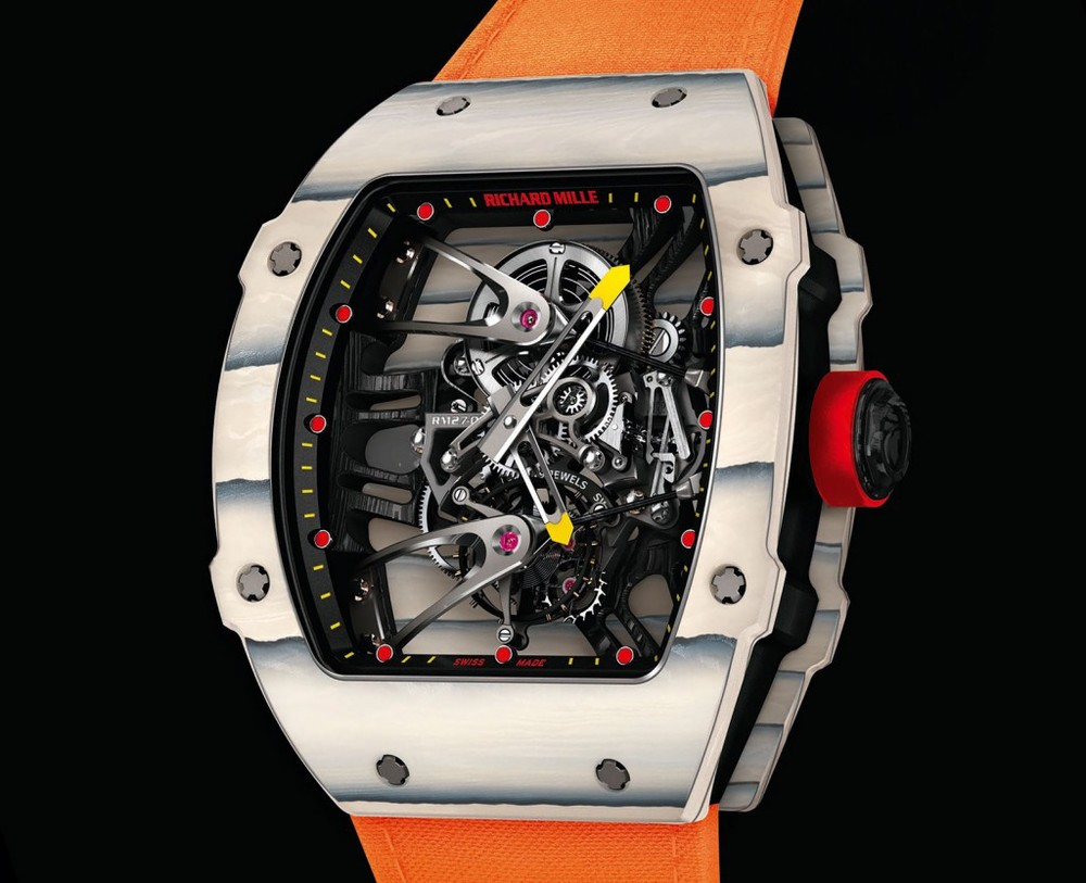 The newly released Richard Mille RM27-02 will run you a cool $800,000 (not a typo)