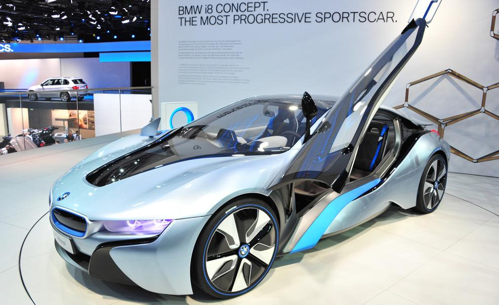 Photo of i8 concept from Car and Driver