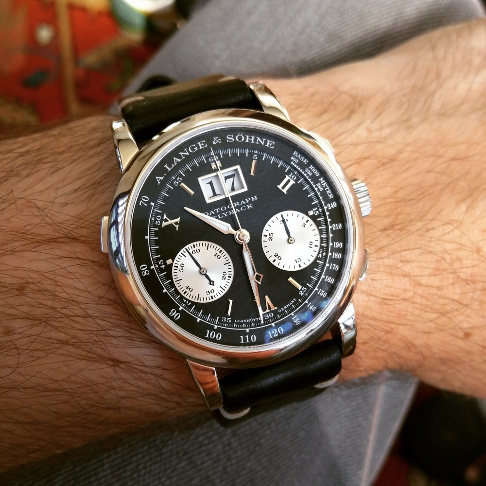 My personal A Lange & Söhne Datograph. Tough to beat.