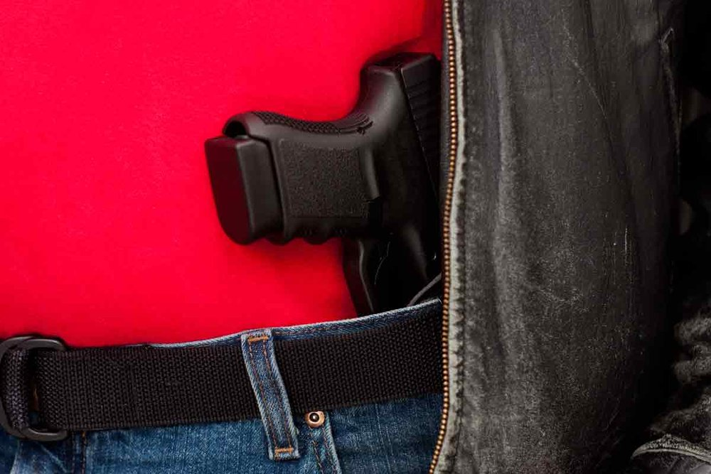 Right-to-carry laws are linked with higher violent crime rates according to research by Stanford Law School Professor John Donohue. (Image credit: Ron Bailey / Getty Images)