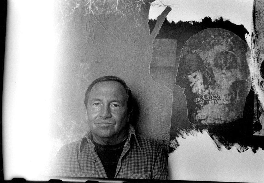 Robert Rauschenberg, 1985© Harvey Stein