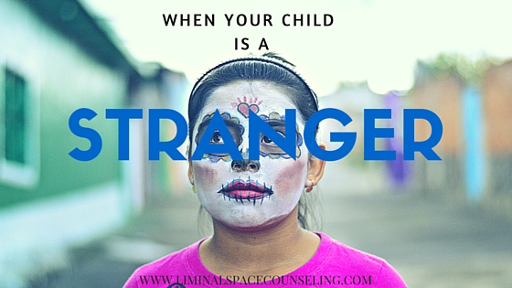 parenting unmet expectations child stranger