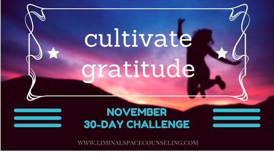 30 day gratitude challenge november 2016