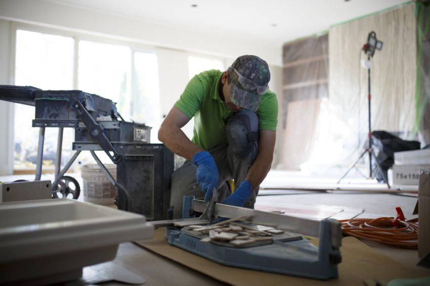 Instead of moving out, many homeowners are opting for a revamp.  (COLE BURSTON/ FOR THE TORONTO STAR)
