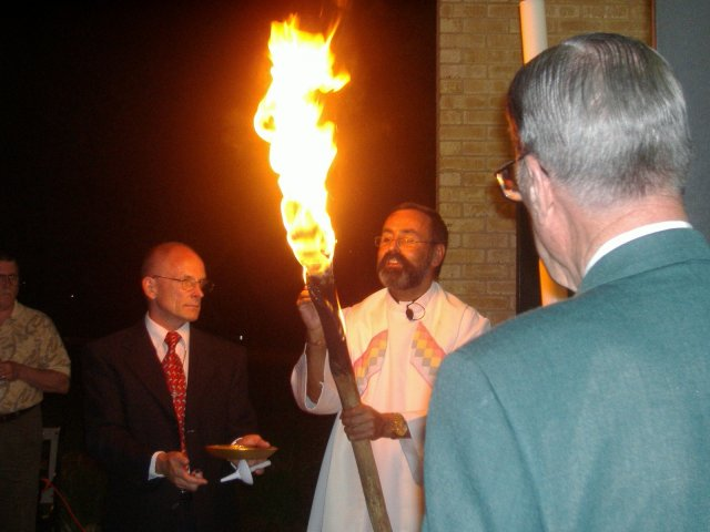 The great Easter Vigil Lucenarium