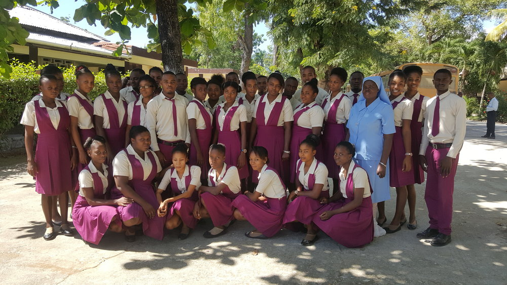First Year Students at the Papaye Normal School, 2018-2019. Photo courtesy of Richard Joseph.